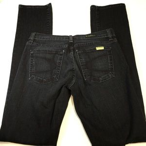 David Kahn Jeans 28 Dark Nikki Skinny 28 Like New